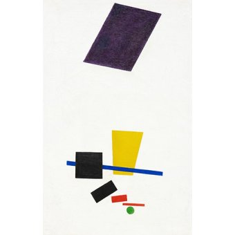 Tableaux abstraits - Tableau - Réalisme pictural d'un joueur de football - - Malevich, Kazimir S.