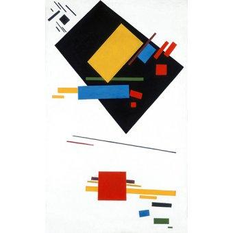 Tableaux abstraits - Tableau - Suprametism - - Malevich, Kazimir S.