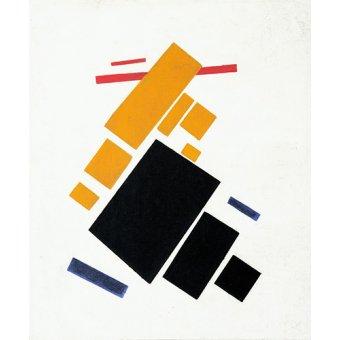 Tableaux abstraits - Tableau - Vol d'avion, 1915 - - Malevich, Kazimir S.