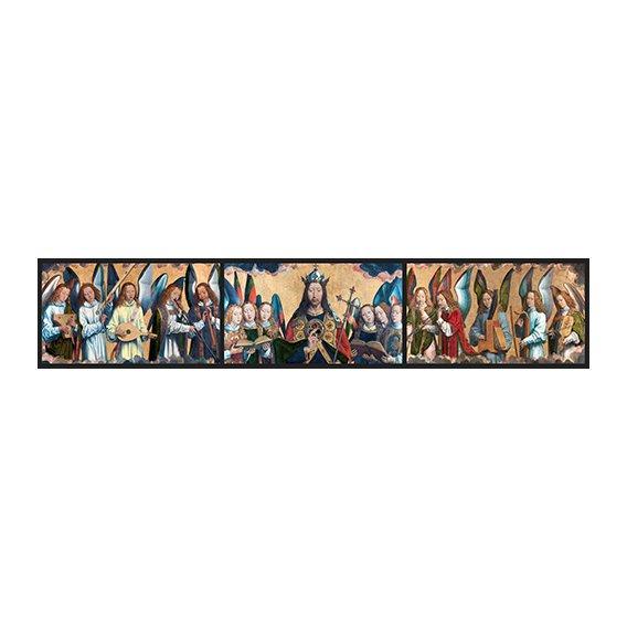 Tableau -Christ avec des musiciens Anges -