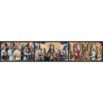 Tableaux religieuses - Tableau -Christ avec des musiciens Anges - - Memling, Hans