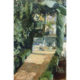 - Tableau -Corte de los Bailes, Alcázar, 1910 - - Sorolla, Joaquin