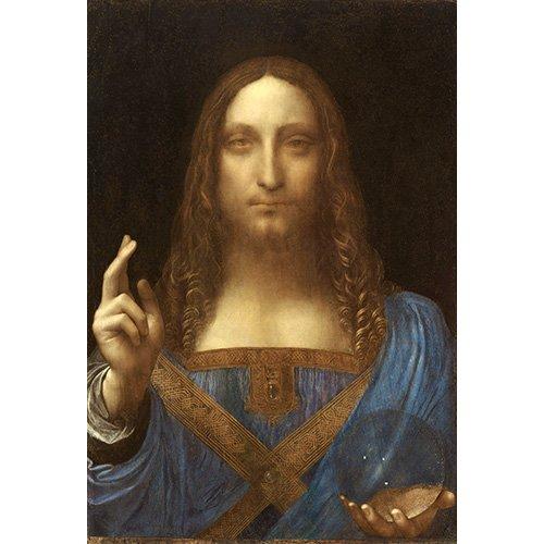 Tableau -Salvator Mundi, c.1500, huile sur noix-