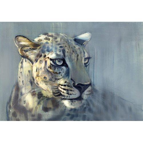 Tableau -Predator II (Arabian Leopard), 2009 (oil on paper)-