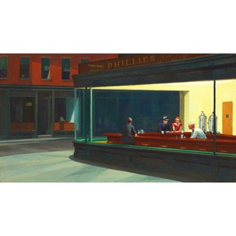 - Tableau - Nighthawks, 1942 - - Hopper, Edward