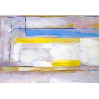 Tableaux abstraits - Tableau -Abstrait M-R-83- - Molsan, E.