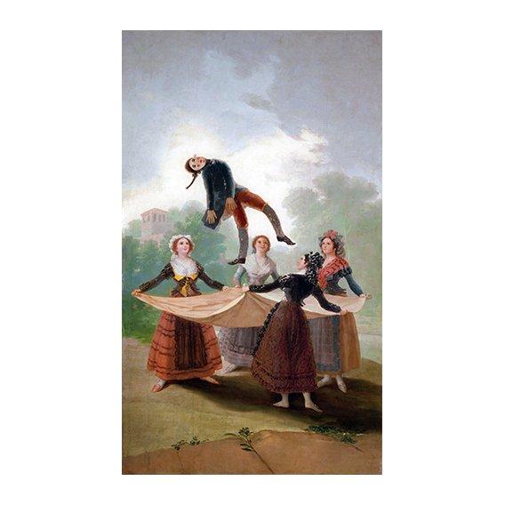 Tableau -El Pelele (The Puppet) 1791-2 (oil on canvas).-