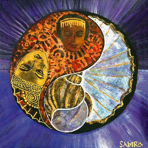 tableaux-orientales - Tableau -Taurus-Scorpio, 2009- - Manek, Sabira