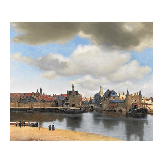 Tableau -Vue de Delft-