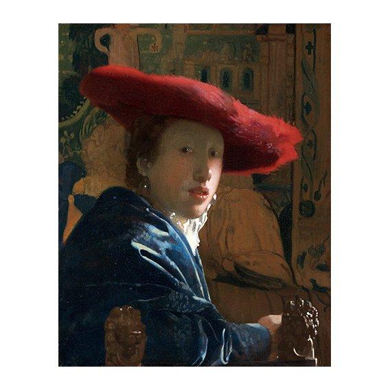 Tableau -La Fille au chapeau rouge-