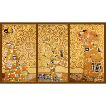 Tableaux de Personnages - Tableau -L'Arbre de vie (triptyque) - - Klimt, Gustav