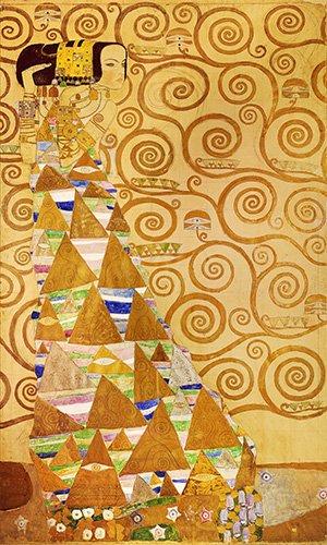 tableaux-de-personnages - Tableau -Expectation- - Klimt, Gustav