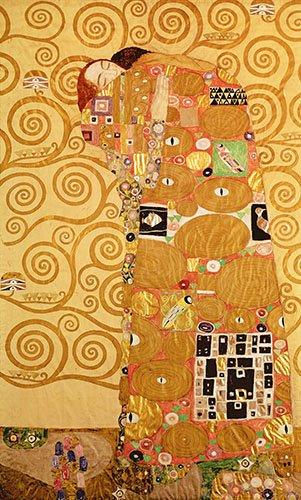 tableaux-de-personnages - Tableau -Fullfilment- - Klimt, Gustav