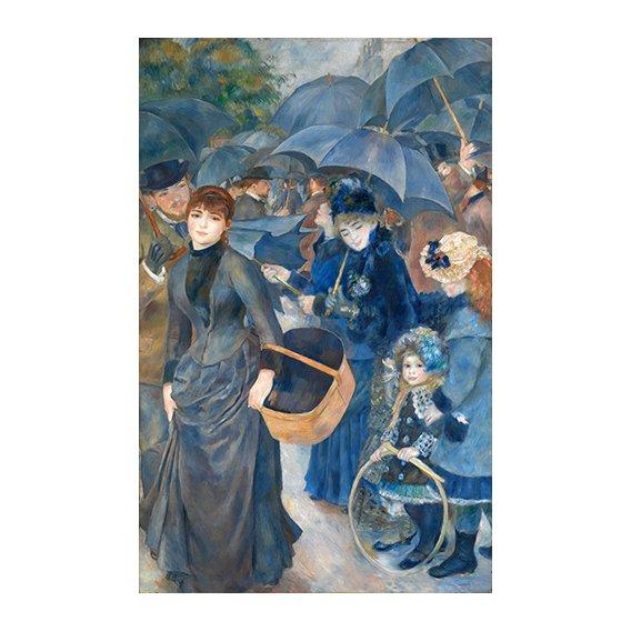 Tableau -Les parapluies, (1881-86)-