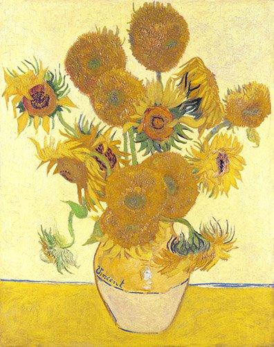 tableaux-de-fleurs - Tableau - Les Tournesols - - Van Gogh, Vincent