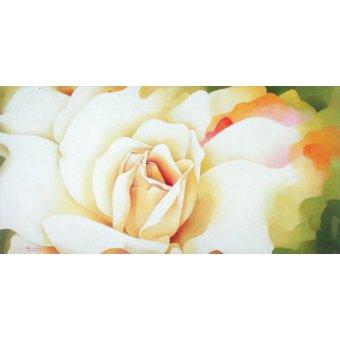 Tableaux de Fleurs - Tableau -The Rose, 1997- - Sim, Myung-Bo