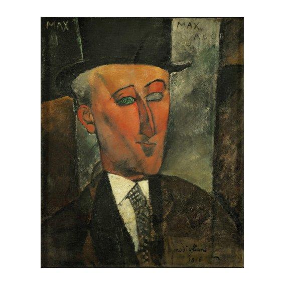 Tableau -Portrait de Max Jacob-
