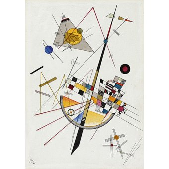- Tableau - Tension douce no-85 - - Kandinsky, Vassily
