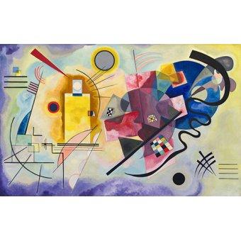 - Tableau - Jaune, Rouge, Bleu - - Kandinsky, Vassily
