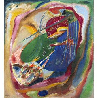 - Tableau - Peinture aux trois taches, 1914 - - Kandinsky, Vassily