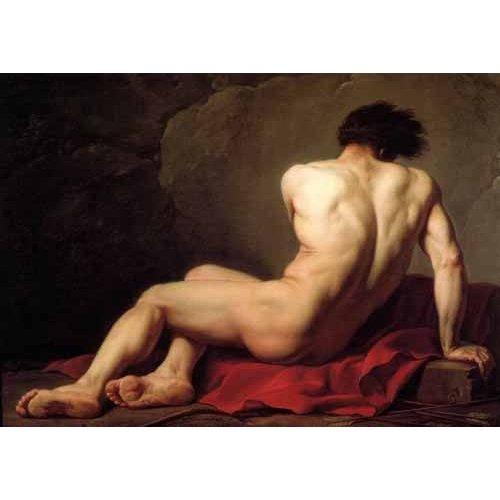 Tableau -Homme nu, connu sous le nom de Patrocle-