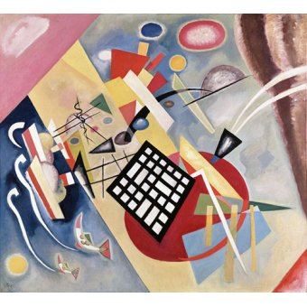 - Tableau -Black Frame, 1922 (oil on canvas) - - Kandinsky, Vassily