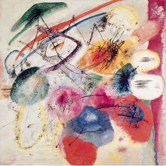 - Tableau -Black Lines, December 1913 (oil on canvas)- - Kandinsky, Vassily