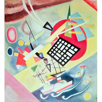 - Tableau -Black Network, 1922 - - Kandinsky, Vassily
