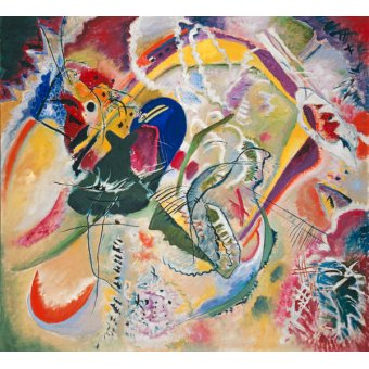 Tableaux abstraits - Tableau -Improvisation 35, 1914 - - Kandinsky, Vassily