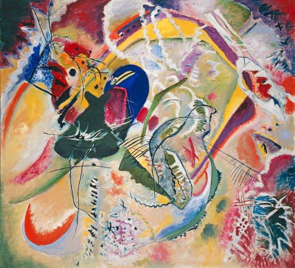 tableaux-abstraits - Tableau -Improvisation 35, 1914 - - Kandinsky, Vassily