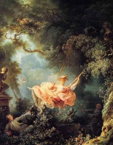 tableaux-de-personnages - Tableau -El columpio- - Fragonard, Jean Honoré