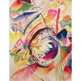 - Tableau - Large Study, 1914 - - Kandinsky, Vassily