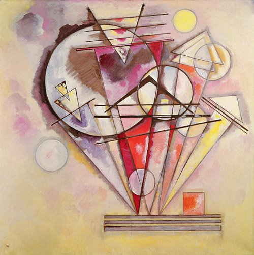 tableaux-abstraits - Tableau - On the Points, 1928 - - Kandinsky, Vassily