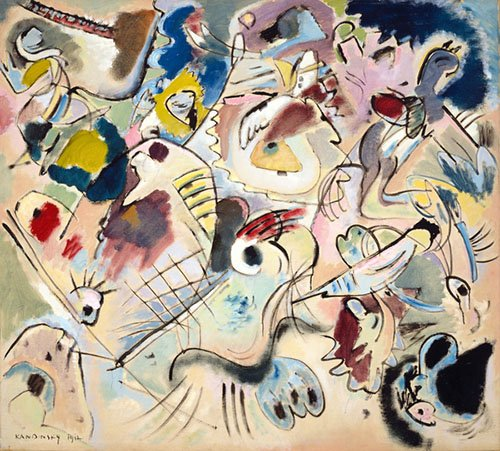tableaux-abstraits - Tableau - Sketch 160A, 1912 - - Kandinsky, Vassily
