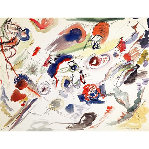 Tableau - Untitled - First Abstraction, 1910 -