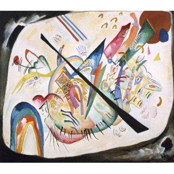- Tableau - White oval, 1919 - - Kandinsky, Vassily