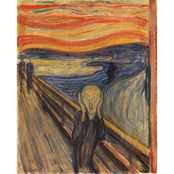 Tableaux de Personnages - Tableau - Le cri, 1893 - - Munch, Edvard