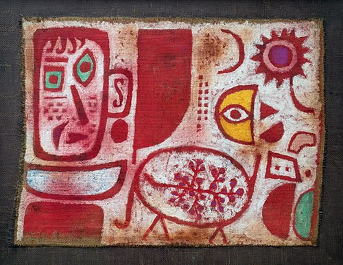 tableaux-abstraits - Tableau - Rausch - - Klee, Paul