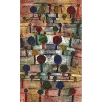 - Tableau - Paysage d'arbres rythmiques, 1920 - - Klee, Paul