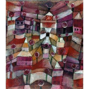 - Tableau - Roseraie - - Klee, Paul