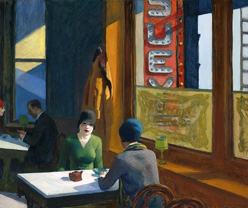 tableaux-de-paysages - Tableau - Chop_Suey - - Hopper, Edward