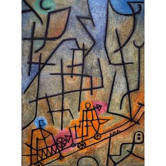 - Tableau - Conquête de la montagne - - Klee, Paul