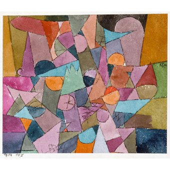 - Tableau - Sans titre, 1914 - - Klee, Paul