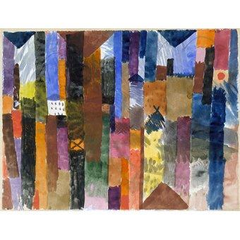 - Tableau - Devant la ville - - Klee, Paul