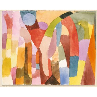 - Tableau - Mouvement de la voûte - - Klee, Paul