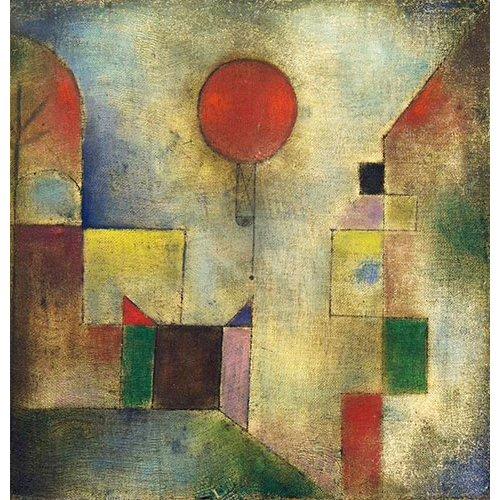 Tableau - Ballon rouge, 1922 -
