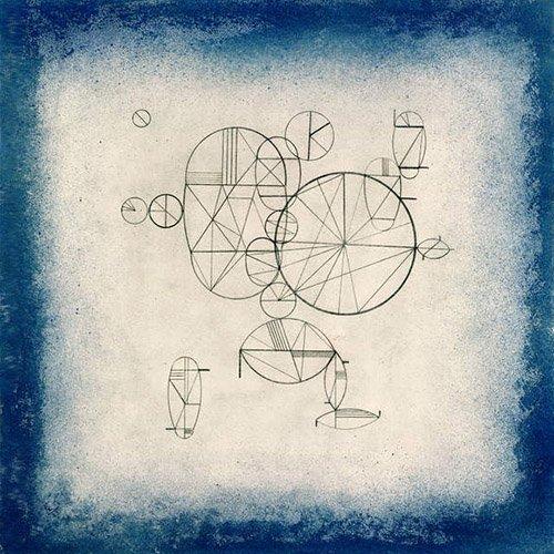 tableaux-abstraits - Tableau - Blue Circles, 1933 - - Kandinsky, Vassily