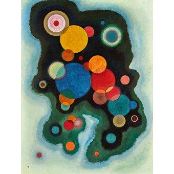 - Tableau - Une impulsion plus profonde, 1928 - - Kandinsky, Vassily
