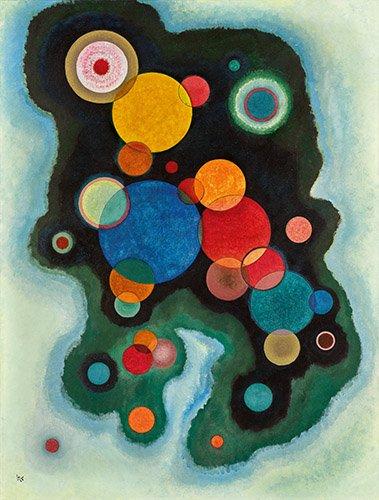 tableaux-abstraits - Tableau - Une impulsion plus profonde, 1928 - - Kandinsky, Vassily