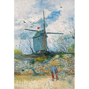 Tableau -Le Moulin de la Galette, 1886-